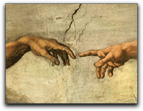 God and Man Touch