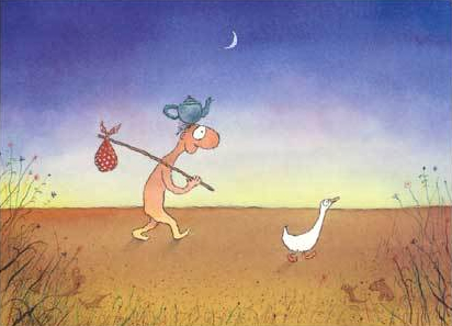Leunig's journey to freedom