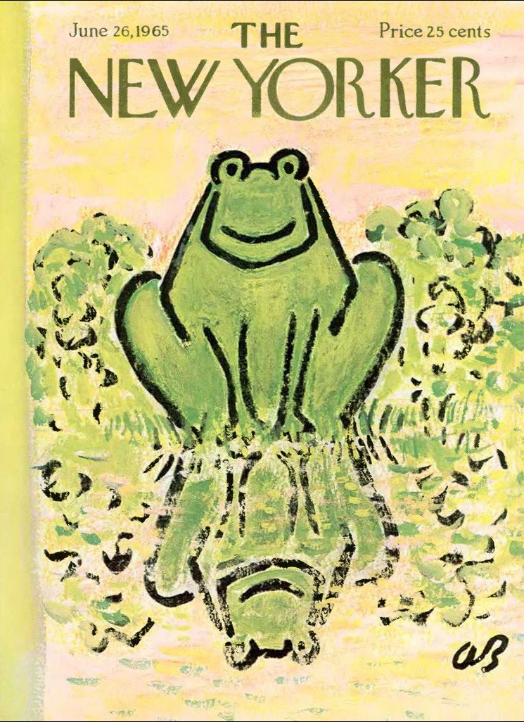New Yorker frog
