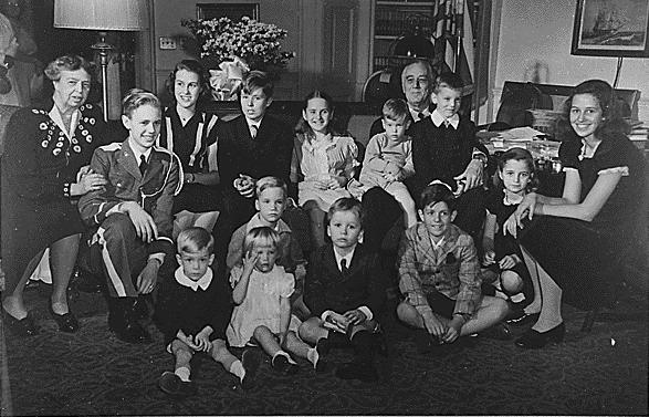 Family photo, spring 1945