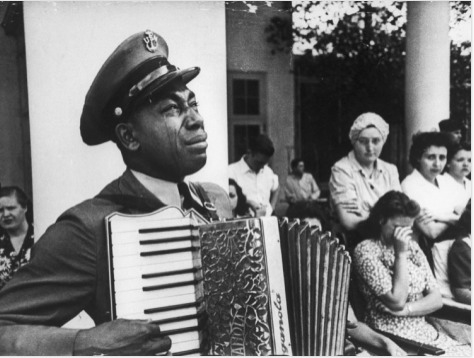 Black Man Weeping for FDR