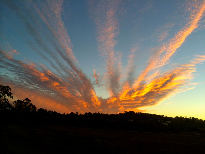 Sunrise over Mill Valley