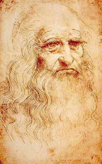 Leonardo's old man