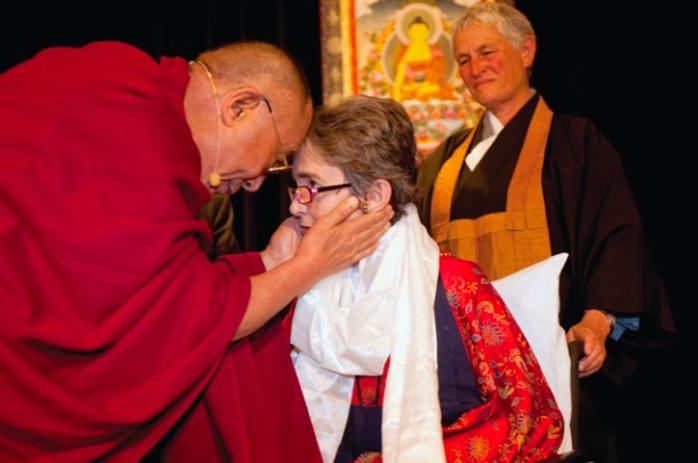 Grace with Dalai Lama