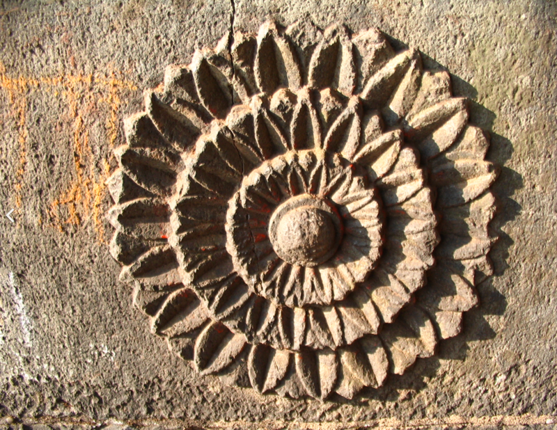 Lotus Motif on Panhala