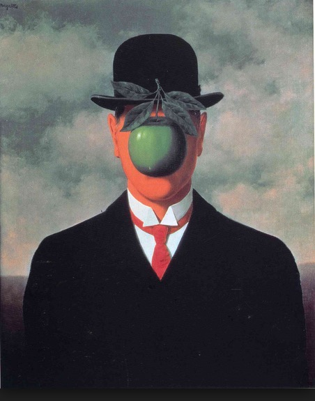 René Magritte painting