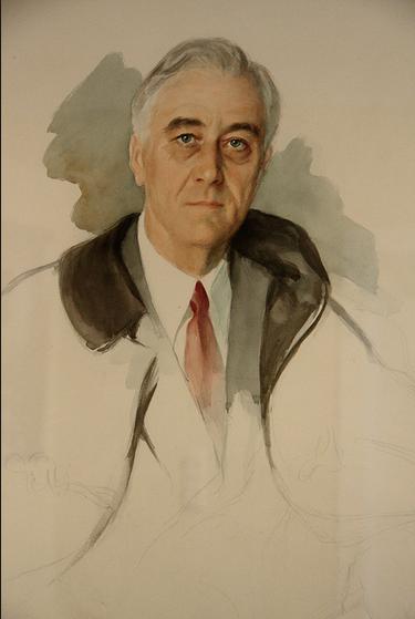 FDR Unfinished portrait
