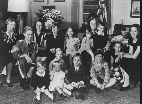 Family Christmas 1944
