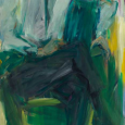 Elaine de Kooning's portait of JFK