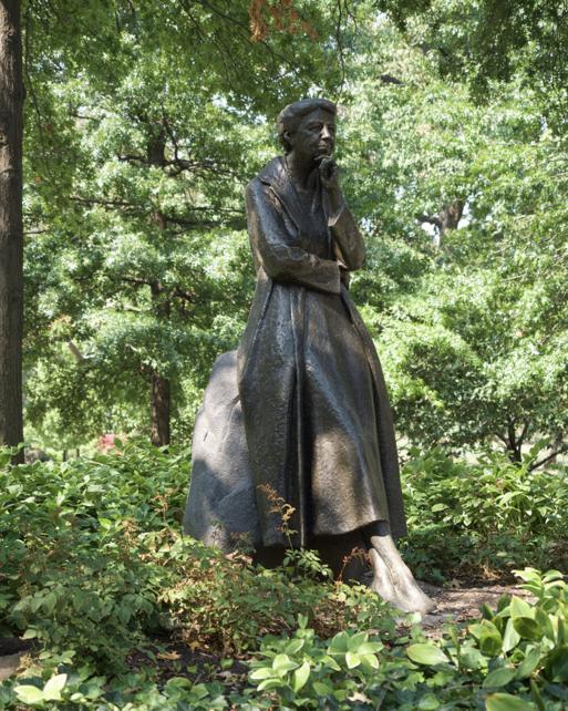 ER statue in Riverside Park