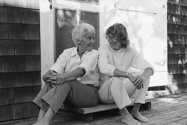 Molly Malone Cook with Mary Oliver