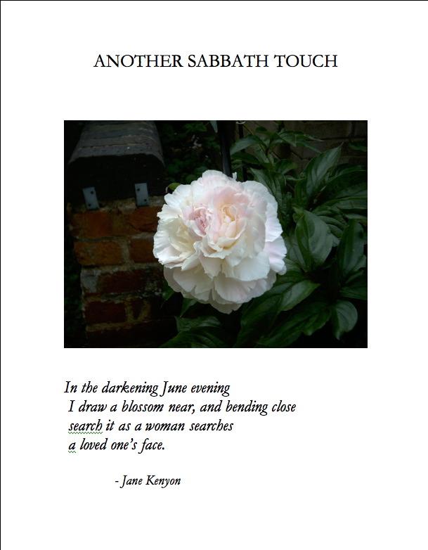 A Jane Kenyon Poem