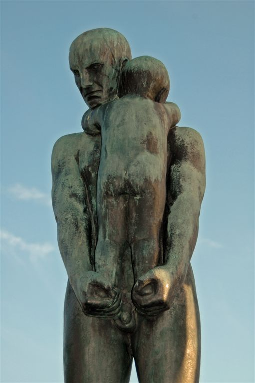 Father and Son 2 (Gustav Vigeland)