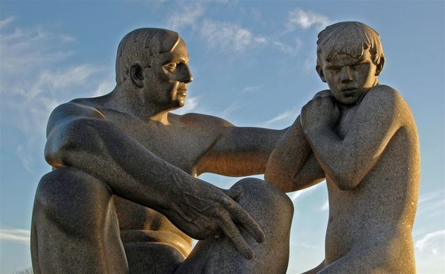 Man and Boy 3 (Gustav Vigeland)